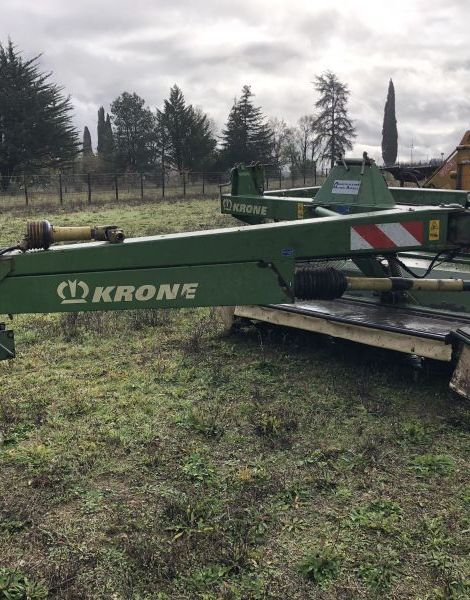 FAUCHEUSE CONDITIONNEUSE TRAINEE KRONE EASYCUT283